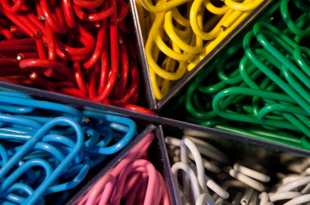 Sorted paperclips by The Pitcher on Flickr