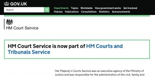 hm court service - new