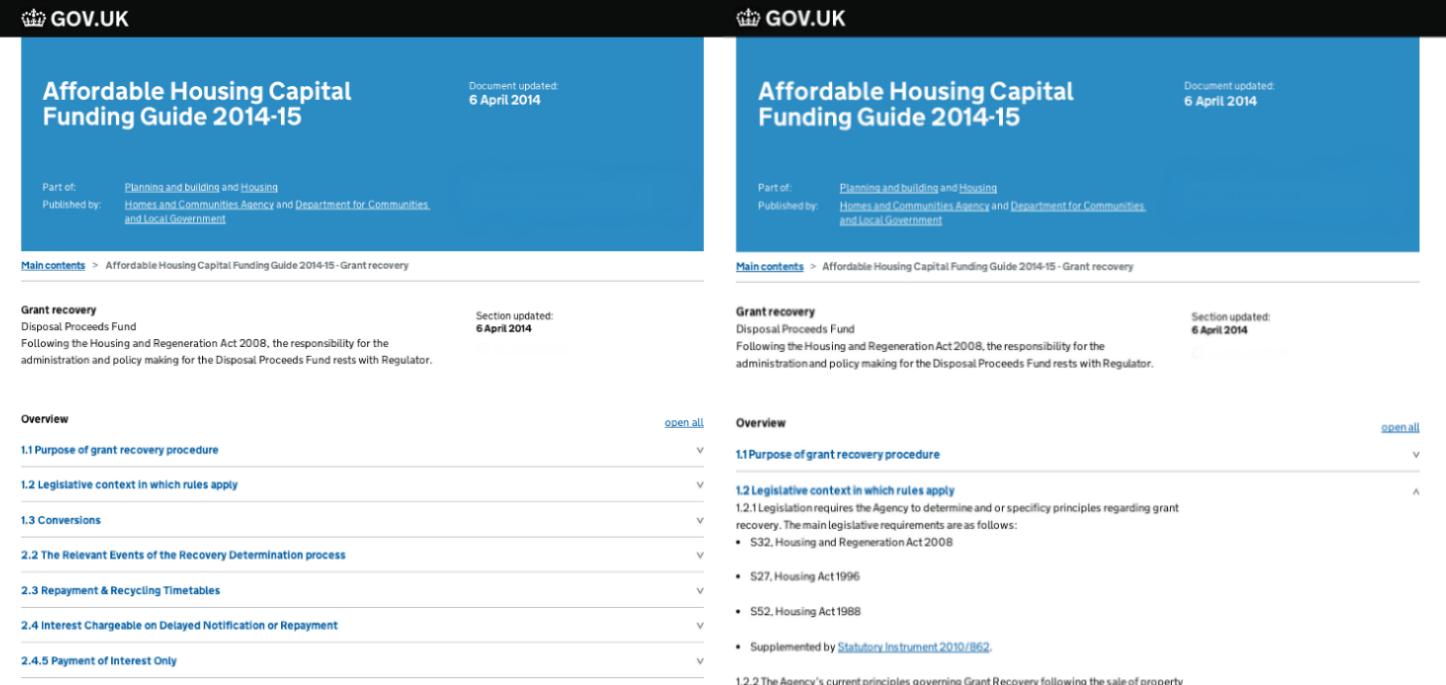 New manuals format - Inside GOV UK