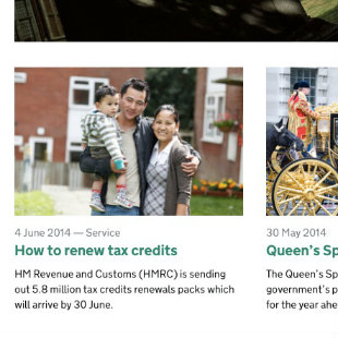 HMRC's promotion of a mainstream service