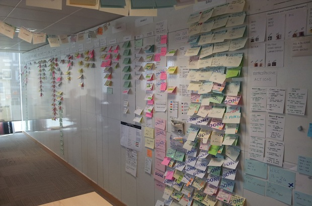 Agile transition wall