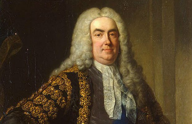 Portrait of Robert Walpole (the first British Prime Minister), workshop of Jean-Baptiste van Loo