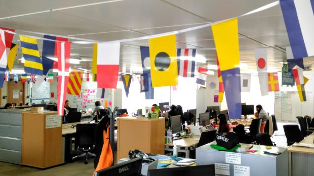 Vaguely international bunting