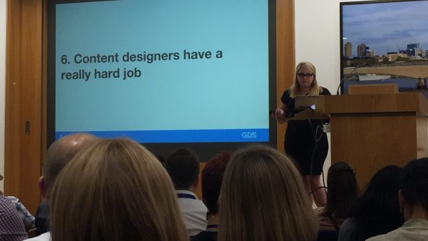 Trisha Doyle: Content designers have a hard job