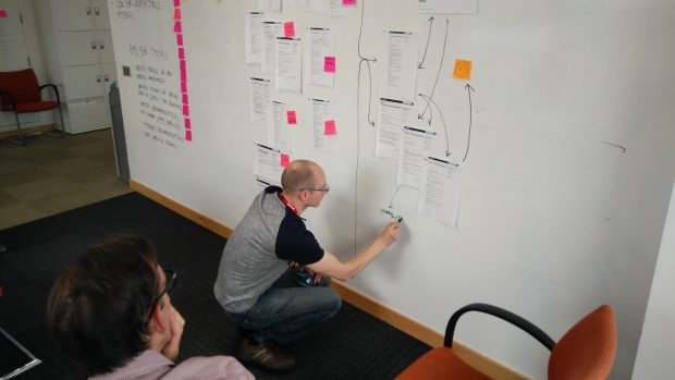 Phil from HMRC maps out user journeys