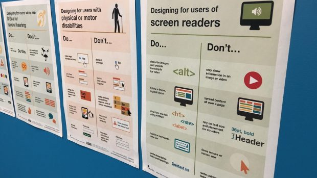 Accessibility posters