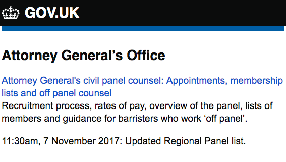 Screenshot of new GOV.UK email