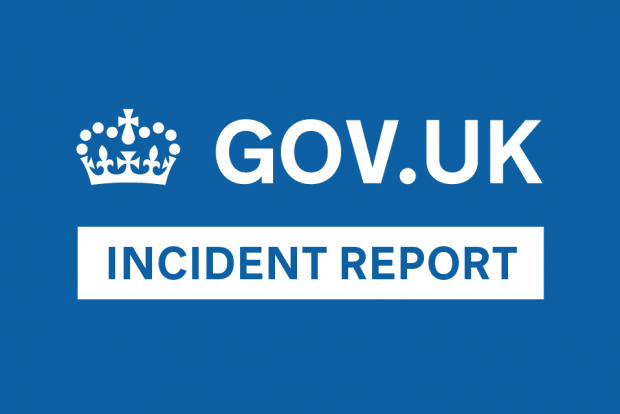 GOV.UK Incident Report